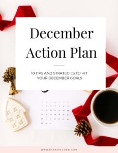 December Action Plan